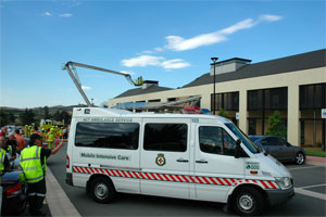 ACT Intensive Care Ambulance-Old livery-1st Generation-www.ambulancevisibility.com-John Killeen