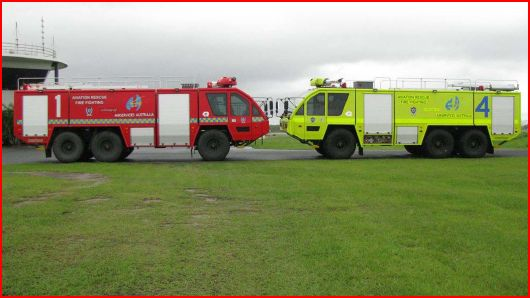 Airservices Australia Fire vehicles 1