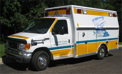 Summit County EMS-High Visibility livery-www.ambulancevisibility.com