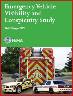 Emergency Vehicle Visibility and Conspicuity Study Cover - www.ambulancevisibility.com