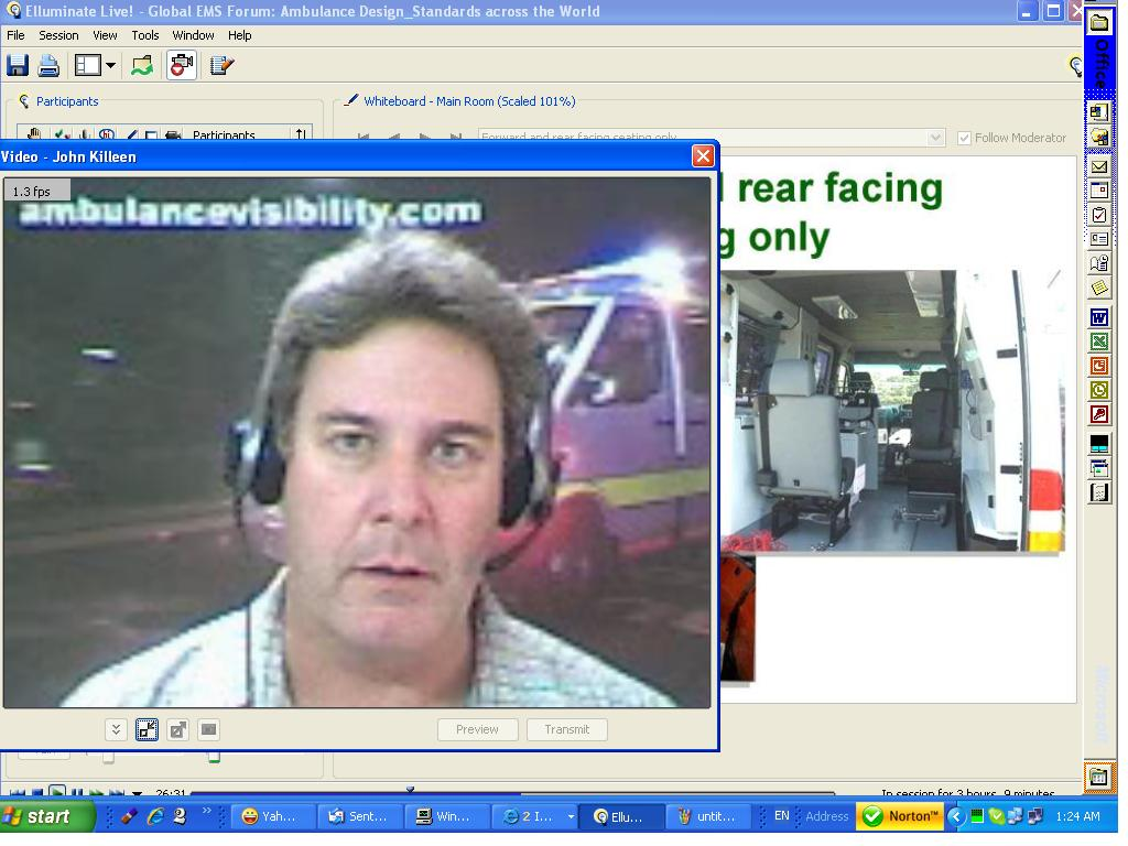 Webinar-Conference-Global EMS Forum-www.ambulancevisibility.com-John Killeen-2